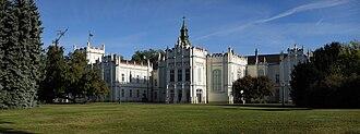 Martonvásár - Image: Brunszvik kastély 2