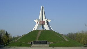 Bryansk - Monument of Kurgan Bessmertiya