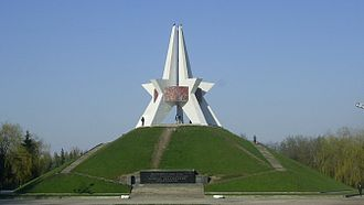 Bryansk - Monument of Kurgan of Immortality