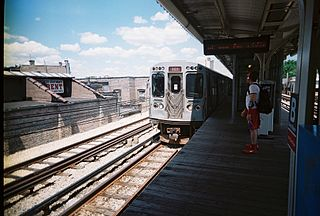 "Bryn Mawr station (CTA) Chicago ""L"" station"