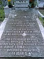 Bucuresti, Romania. Cimitirul Bellu Catolic. Mormantul Episcopului Martir VASILE AFTENIE, Beatificat in 2 Iunie 2019 de catre PAPA FRANCISC (detaliu 2).jpg
