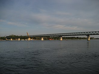 Bridges of Budapest - North Rail Bridge