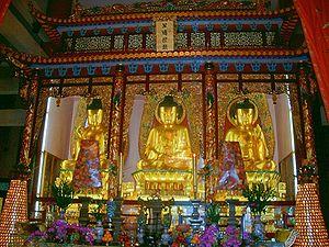 Buddhist Statues of Chuk Lam Sim Monastery Fu Yung Shan Tsuen Wan Hong Kong