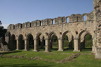 Buildwas Abbey - Image: Buildwas Abbey 3