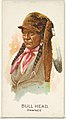 Bull Head, Pawnee, from the American Indian Chiefs series (N2) for Allen & Ginter Cigarettes Brands MET DP828014.jpg
