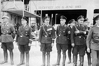 Werner Lorenz - NSDAP meeting, fourth from left Werner Lorenz.