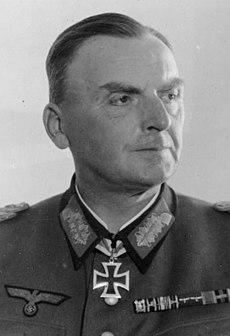 Heinrich Kittel German General and Knights Cross recipients