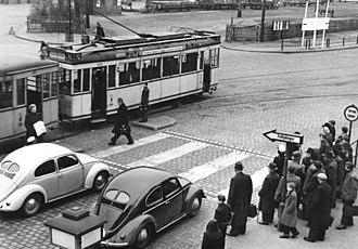 Pedestrian crossing - Crosswalk (Berlin 1952)
