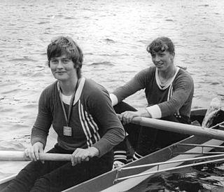 Silvia Fröhlich East German rower
