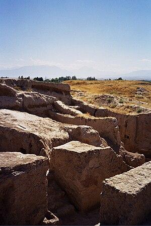 Panjakent - Ancient ruins, near Panjakent