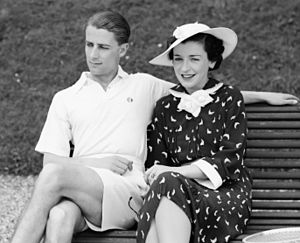 Phyllis Konstam - Phyllis Konstam with her husband Bunny Austin in 1936