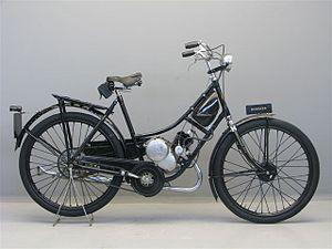 ILO-Motorenwerke - Image: Burgers 100 cc ILO 1934
