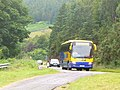 Bus at Creag Aimhreidh - geograph.org.uk - 2546636.jpg