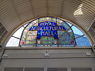 Royal Agricultural Hall - Stained glass