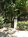 Buste - jardin municipal de Réthymnon - 2.JPG