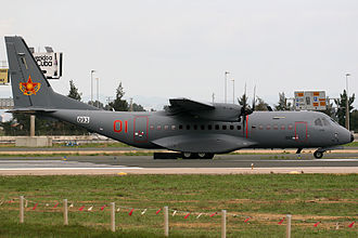 Armed Forces of the Republic of Kazakhstan - A Kazakhstan CASA C-295