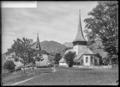 CH-NB - Rougemont, Eglise et château, vue d'ensemble - Collection Max van Berchem - EAD-7510.tif