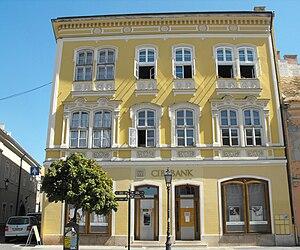 CIB Bank - A CIB Bank in Székesfehérvár