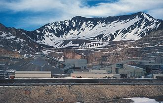 Molybdenum mining in the United States - Climax Mine, 2007