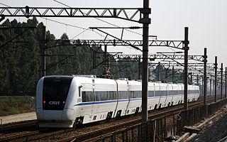 China Railway CRH1 high speed train