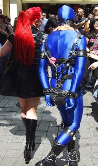 Members of the Christopher Street Day demonstr...
