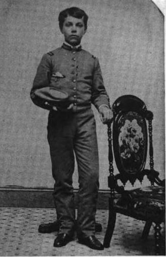 L. Frank Baum - Young Baum in the Peekskill Military Academy