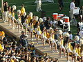 Cal Dance Team at 2008 Big Game 11.JPG