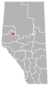 Calais, Alberta Location.png