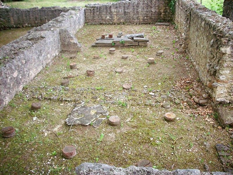 Caldarium (Villa gallo-romaine de Montmaurin)