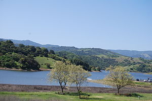 Calero Reservoir - May 2009