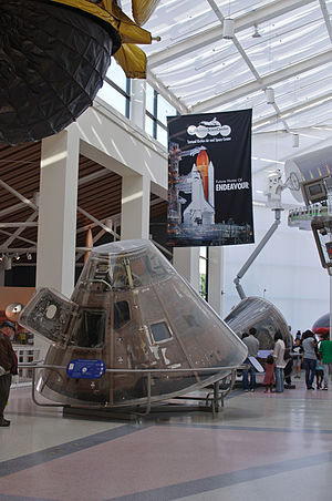 California Science Center - Manned spaceflight exhibit at the California Science Center