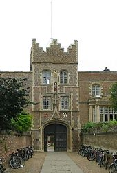 "Jesus College Gatehouse and the ""Chimney"""