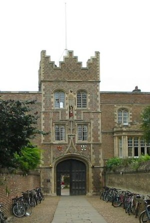 Sammy Woods - The Gatehouse of Jesus College, Cambridge, where Woods spent four years.