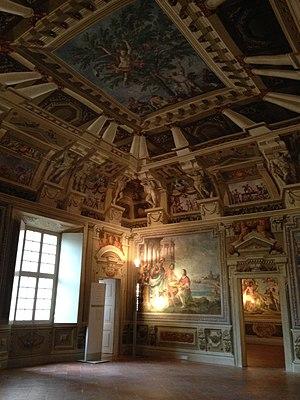 Ducal Palace of Sassuolo - Image: Camerino del Genio 2