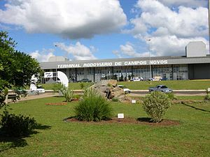 Campos Novos - Central bus station