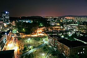 Campus of Seoul National University of Technology. Seoultech. Snut..jpg