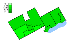 Canadian federal election results in Southern Durham and York - Green Party of Canada