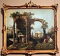 Canaletto e bottega, capriccio con rovine ed edifici classici, 1760-70 ca.jpg
