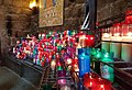 Candles at the Montserrat Monestary, Costa Barcelona.jpg