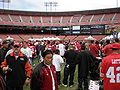 Candlestick Park during 49ers Family Day 2009 1.JPG