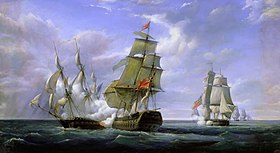 Image illustrative de l'article HMS Tremendous (1784)