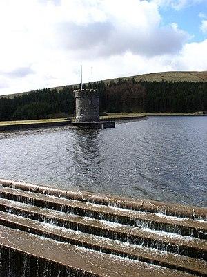 Cantref Reservoir - Image: Cantref Reservoir geograph.org.uk 148775