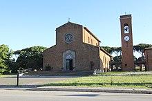 La chiesa del Cuore Immacolato