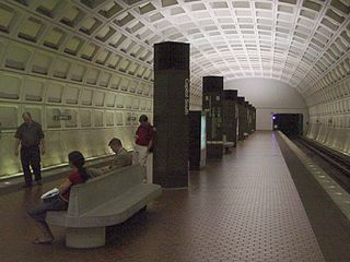 Capitol South station Washington Metro station