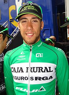Omar Fraile Spanish cyclist