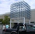 Car service outside the Staten Island Mall in Staten Island, New York.JPG