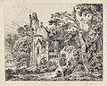Carl Blechen - Kloster im Walde (1823).jpg