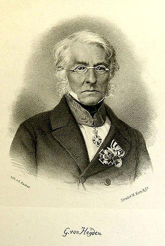 Carl von Heyden - Carl von Heyden