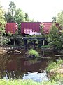 Carolina Southern Railroad August 2013 Storage Boxcars long since moved on Bridge - panoramio.jpg