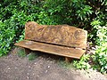 Carved seat, Stover Country Park - geograph.org.uk - 1371793.jpg